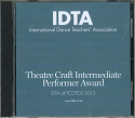 THEATRE CRAFT INTERMEDIATE PERFORMER AWARD - DIGITAL DOWNLOAD