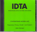 CONTEMPORARY MODERN JAZZ PREP-G2 CD