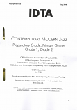 CONTEMPORARY MODERN JAZZ PREP-G2 SYLLABUS NOTES