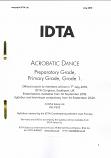 ACROBATIC DANCE PREP TO GRADE 2 SYLLABUS NOTES