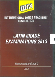 LATIN GRADE EXAMINATIONS 2013 - PREPARATORY TO GRADE 2 DVD DOWNLOAD