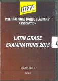 LATIN GRADE EXAMINATIONS 2013 - GRADE 3, GRADE 4 & GRADE 5 DVD DOWNLOAD