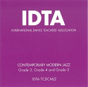 CONTEMPORARY MODERN JAZZ GRADES 3-5 CD