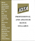 IDTA PROFESSIONAL & AMATEUR DANCE SYLLABUS - NEW 2014 RING-BINDER EDITION