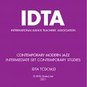 CONTEMPORARY MODERN JAZZ INTERMEDIATE PERFORMERS AWARD CD