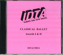CLASSICAL BALLET AWARDS 1 & 2 EXAMINATION CD