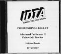 BALLET ADVANCED 2./FELLOWSHIP EXAMINATION CD
