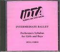 BALLET INTERMEDIATE EXAMINATION CD