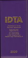 2020 IDTA WEEK TO VIEW DIARY - NEW